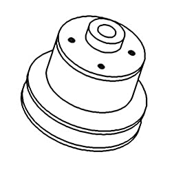 T26850 New Press-On Water Pump Pulley Made To Fit