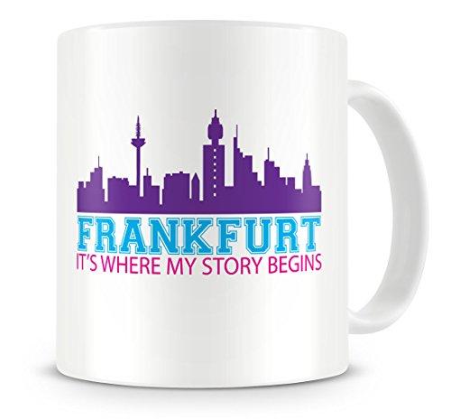 BadBananas Frankfurt (Germany), It's Where My Story Begins - Ceramic Coffee Mug ()