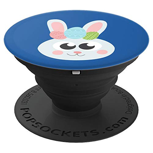 Cool Adorable Easter Bunny Face Costume Emojis Art Gift - PopSockets Grip and Stand for Phones and -