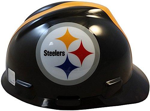 MSA NFL Ratchet Suspension HardHats - Pittsburgh Steelers Hard Hats by MSA (Image #2)