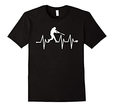 Baseball Heartbeat Pulse Shirt - Funny Baseball T-Shirt