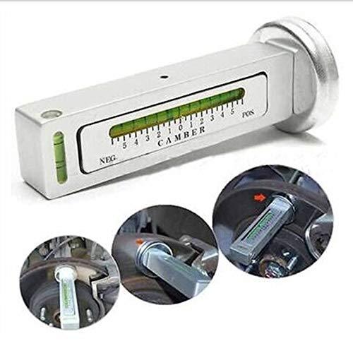 Goldyqin Regolabile Calibro Magnetico Strumento Camber Castor Strut Car Wheel Aligner a Quattro Ruote Bubble Posizionamento dellutensile