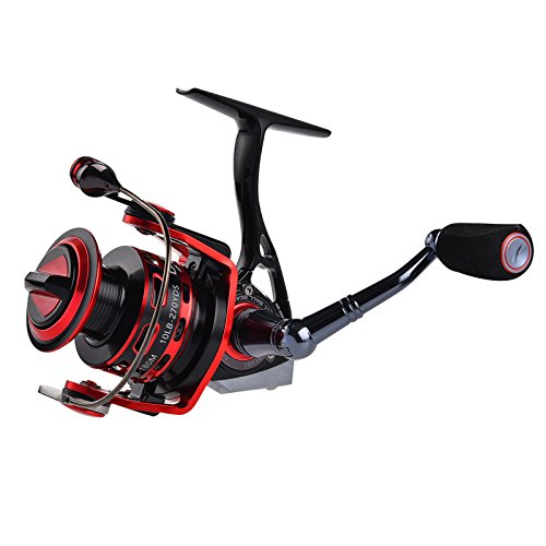 Kastking orcastm all metal spinning reel smooth for Richard bowling fishing report