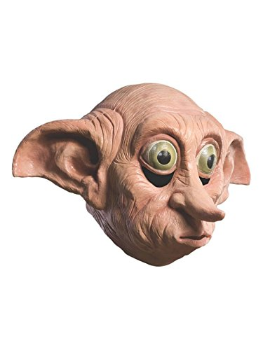 Harry Potter Dobby Deluxe Adult Latex Mask]()