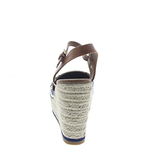 assortiti WHT Women's Sandals Fashion Wrangler 455 NVY F1t8Wq