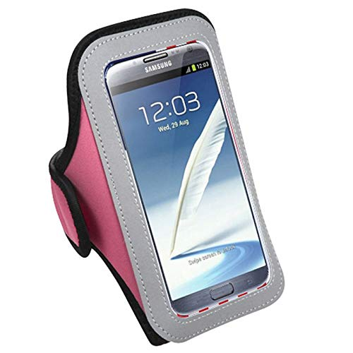 - Insten Vertical Pouch Pink Sport Armband Phone Holder Case Compatible with Sony Ericsson Xperia L1, Xperia XZ Premium Xperia XA1 Ultra Xperia Z3v Xperia XA Ultra Xperia Z2 Nokia 5 Lumia 1320 6
