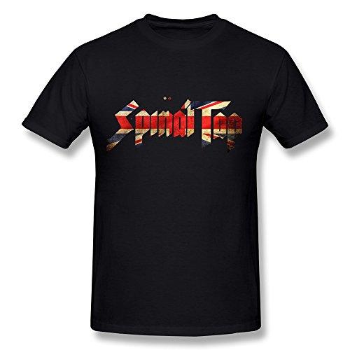 SIANDA Mens Spinal T Shirts Black product image