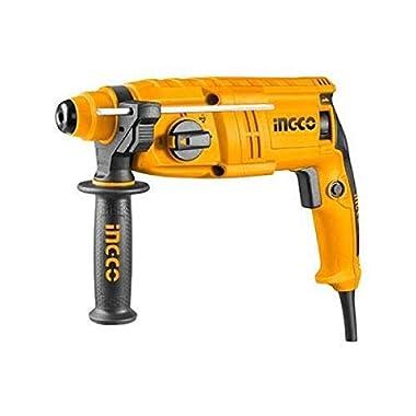INGCO POWERTOOLS & HANDTOOLS 650W Rotary hammer With 3 SDS-PLUS drills 8