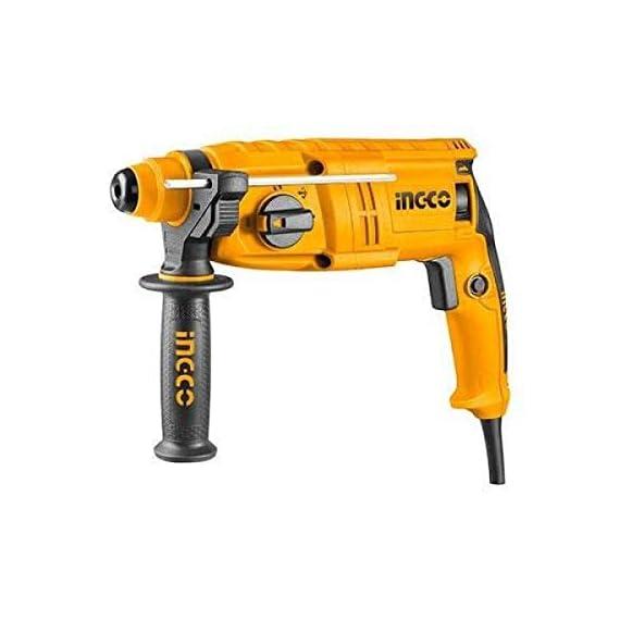 INGCO POWERTOOLS & HANDTOOLS 650W Rotary hammer With 3 SDS-PLUS drills 4