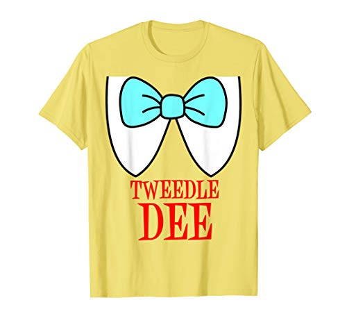 Tweedle Dum And Dee Costumes (Tweedle Dee Costume T-Shirt)