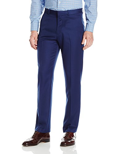 Perry Ellis Men's Portfolio Modern Fit Performance Pant, Poseidon, 33x30