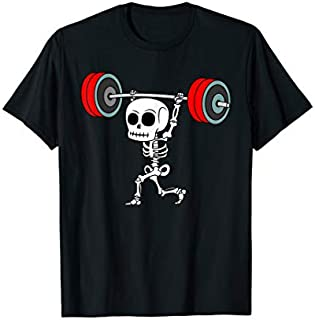 [Featured] Weightlifting Skeleton Halloween Fitness Gym Workout Costume in ALL styles | Size S - 5XL