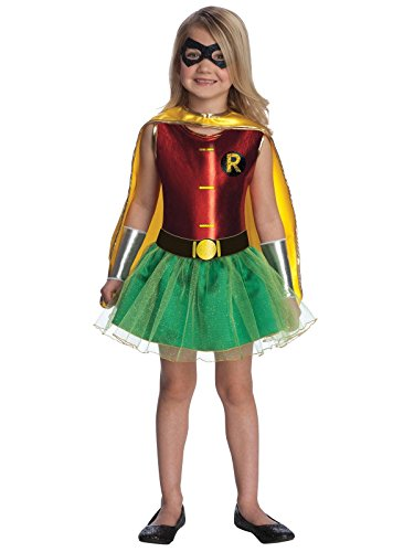 Justice League Child's Robin Tutu Dress - -