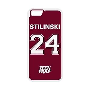 ROJO BEACON COLINAS TEEN WOLF STILINSKI 24 (5) a la Mejor funda iPhone 6 6s de 4.7 pufunda LGadas del teléfono celular Funda cubierta blanca