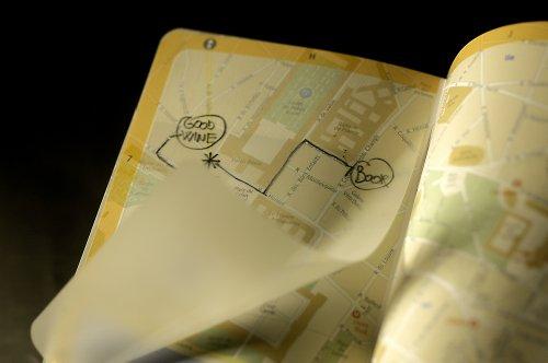 Moleskine City Notebook - Moscow, Pocket, Black, Hard Cover (3.5 x 5.5) by Moleskine (Image #7)