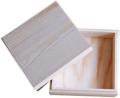 BZM-ZM (:ナチュラル、サイズ:11.5X11.5X5CMカラー)あなたの油の安全を守るために木製のエッセンシャルオイルストレージボックスベスト