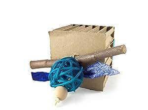 Bundora's Box Rabbit Chew and Throw Toy