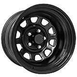 Pro Comp Steel Wheels Series 51 Wheel with Gloss Black Finish (15x8''/5x5.5'')