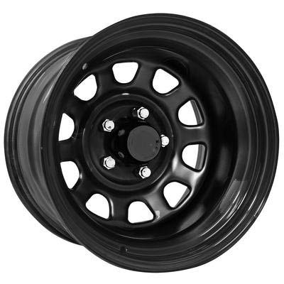(Pro Comp Steel Wheels Series 51 Wheel with Gloss Black Finish)