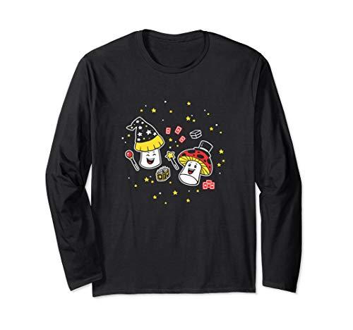 Magic Mushrooms Long Sleeve Shirt | Puns Punny -