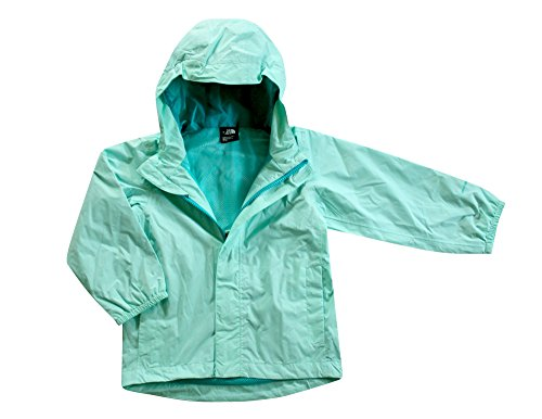 The North Face Toddler Girls Quinn Rain Shell Jacket (3T, Beach Glass - North Face Glasses