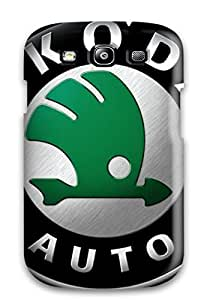 New Style JessicaBMcrae Hard Case Cover For Galaxy S3- Skoda Logo