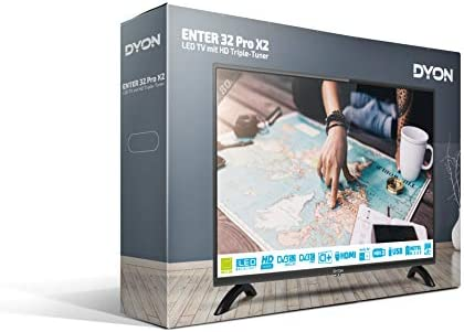 DYON Enter 32 Pro-X2 LED-TV 80cm 31.5 Zoll EEK A+ (A++: Amazon.es: Electrónica