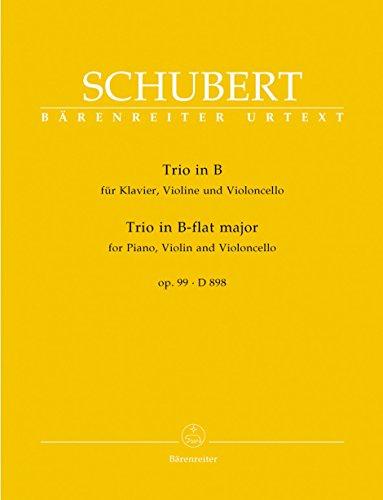 Schubert: Piano Trio in B-flat Major, Op. 99, D 898 - Schubert Trio