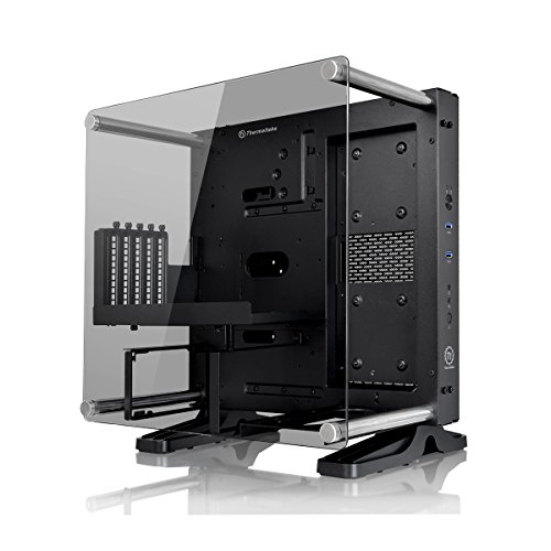 (Thermaltake Core P1 Mini ITX Tempered Glass Edition Wall Mounted Computer Chassis - Black)