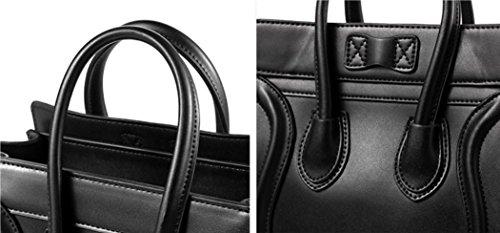 Meaeo Main À À Femme Sac Simple Sac Diagonale Gris Bandoulière Black 44qxETwRrn
