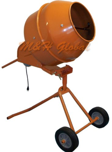 5 Cubic TALL Cement Mixer Portable Concrete Mixing Motar Mixer by Generic