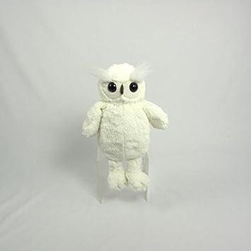 Amazon.com: Wishpets - Búho de peluche, búho blanco sentado ...