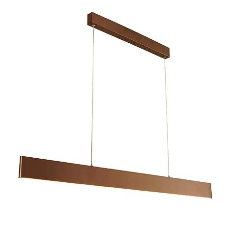 Lámpara De Techo LED De Oficina De Metal Y Acrílico, Comedor ...