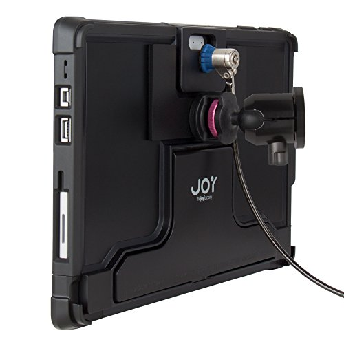 The Joy Factory MagConnect On-Wall Mount w/ Lockdown Secure Holder w/ Cable Lock for Surface Pro and Pro 4 (MLM115) by The Joy Factory