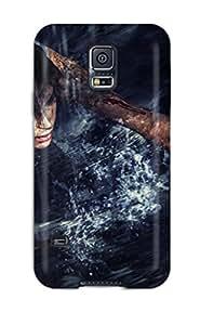 Cute Appearance Cover/tpu ANhAdpk22337XfsoB Tomb Raider Case For Galaxy S5
