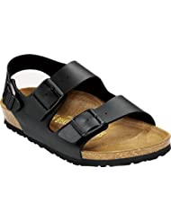 Birkenstock Milano Sandals Birko-Flor - EUR 35 - narrow - Black - Birko-Flor