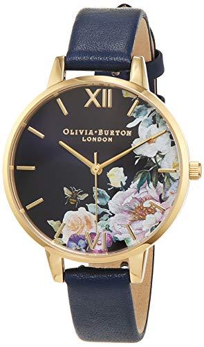 Olivia Burton Womens Analogue Quartz Watch with Leather Strap OB16EG113