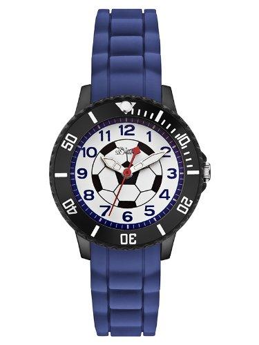 s.Oliver Jungen-Armbanduhr Analog Quarz SO-2589-PQ