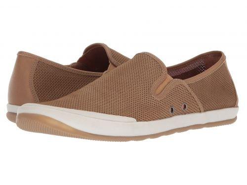 Johnston & Murphy(ジョーンストンアンドマーフィー) メンズ 男性用 シューズ 靴 スニーカー 運動靴 Mullen Slip-On - Sand Perfed Nubuck [並行輸入品] B07C8GP4S3