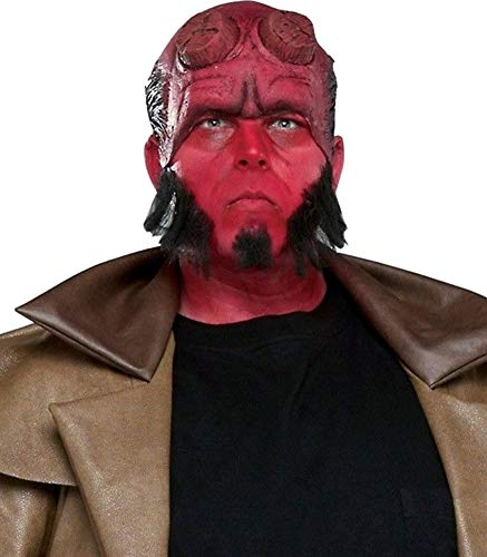 Adults Hellboy Headpiece Costume Accessory