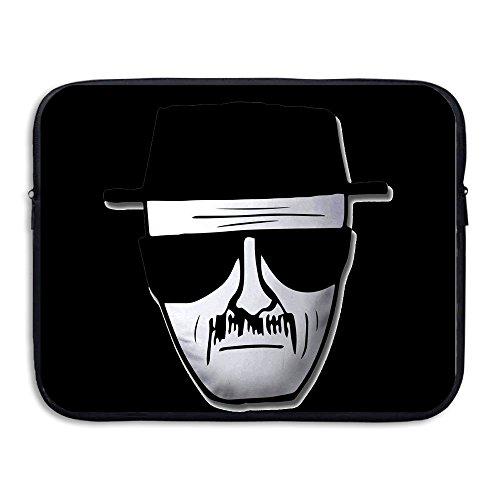 [Custom Geek Breaking Bad Heisenberg Logo Waterproof Notebook Zipper Case 13 Inch] (Bad Habit Costumes)