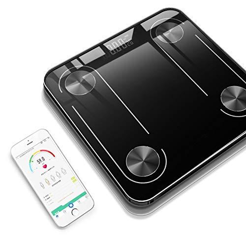 【2019年最新】体組成計 体重計 体脂肪計 Pkoala スマホ連動 bluetooth対応 体重/BMI/体脂肪率/体脂肪量/筋肉率/筋肉量/体水分率/推定骨量/基礎代謝量/タンパク質比/タンパク質量/肥満/ボディエイジ/無脂肪体重/内臓脂肪レベル/標準重量/重量偏差 iOS/Androidアプリ対応 (Mini)