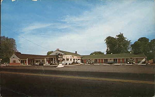 Maine Motel, Rte. U.S. 1 South Portland Original Vintage - Rte 50 Us