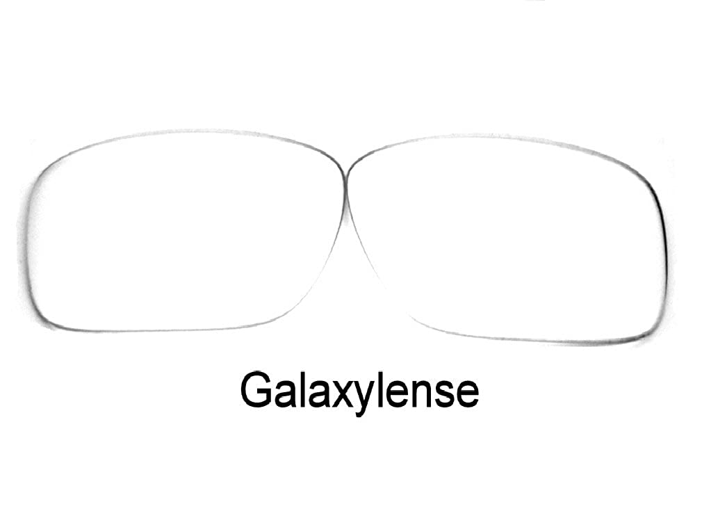 bca16d3e9f Amazon.com  Galaxy Replacement Lenses For Oakley Deviation Crystal Clear   Clothing