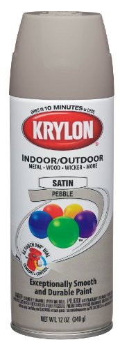 Colormaster Indoor/Outdoor Aerosol Paint 12Oz-Satin Pebble