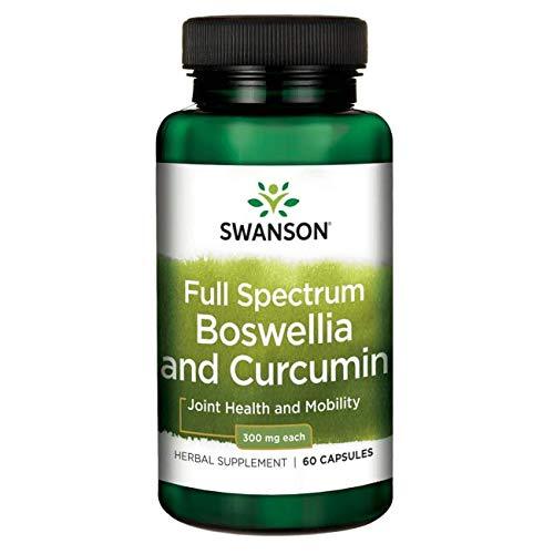 Swanson Full Spectrum Boswellia and Curcumin 60 Capsules