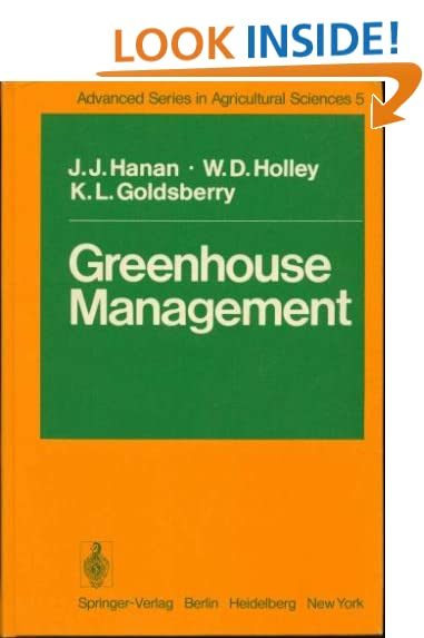 Greenhouse management (Advanced series in agricultural sciences)