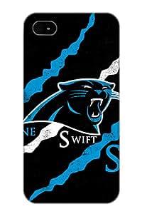 Exultantor Premium Protective Hard Case For Iphone 4/4s- Nice Design - Carolina Panthers Nfl Football Rl