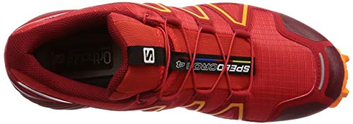 Salomon Dahlia High 4 Red Risk Orange Tangelo Speedcross Red HwrqZH