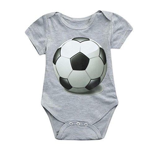 9346117a2c6d EnjoCho Infant Romper Jumpsuit Baby Soccer Football Print Bodysuit Kids   One-Piece (Size